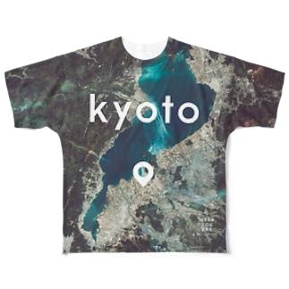 滋賀県 近江八幡市 Tシャツ 片面 フルグラフィックTシャツ