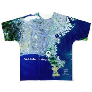 神奈川県 逗子市 Tシャツ 両面 フルグラフィックTシャツ