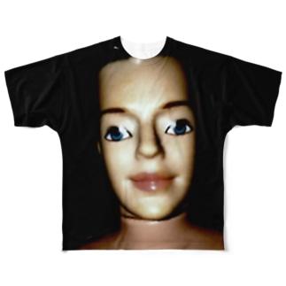 ンヌグム フルグラフィックTシャツ