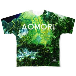 青森県 弘前市 Tシャツ 両面 フルグラフィックTシャツ