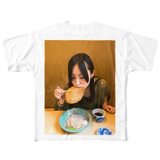 蕎麦 Full graphic T-shirts