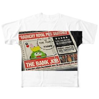 NEWS tonchiki Full graphic T-shirts