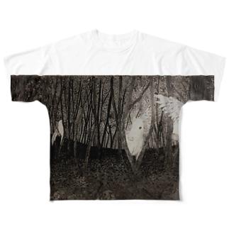 境界 Full graphic T-shirts