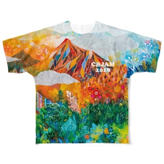CBJAM2018 フルグラフィックTシャツ