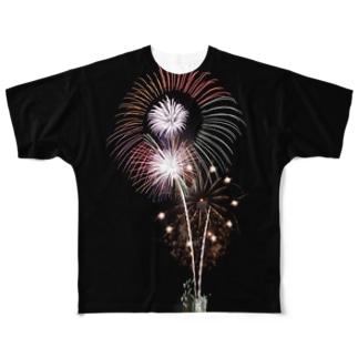 スターマイン Full graphic T-shirts
