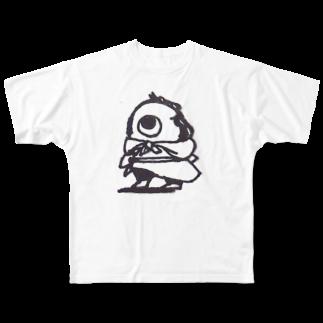 敷島の滅相もない商人 Full graphic T-shirts