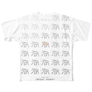 mizusawa model フルグラフィックTシャツ
