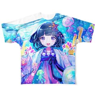 ジェリーフィッシュ+. フルグラフィックTシャツ