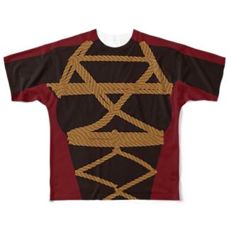 纏縄 Full graphic T-shirts