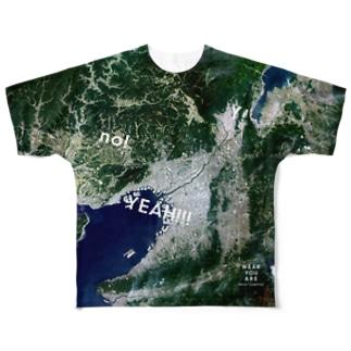 大阪府 豊中市 Tシャツ 両面 Full graphic T-shirts