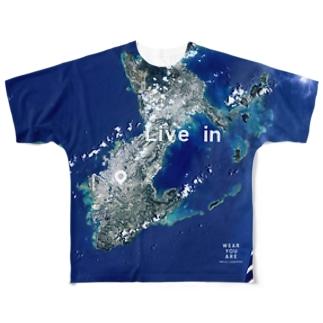沖縄県 那覇市 Tシャツ 両面 Full graphic T-shirts