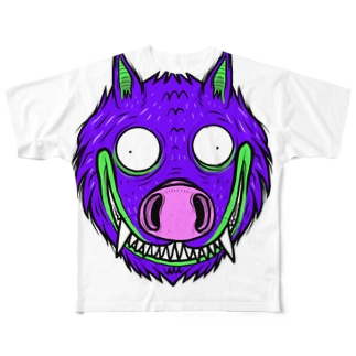 I`m WoLuffy Full graphic T-shirts