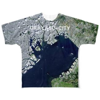 千葉県 浦安市 Tシャツ 両面 Full graphic T-shirts