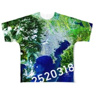 神奈川県 大和市 Tシャツ 両面 Full graphic T-shirts