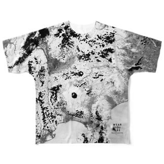 山梨県 富士吉田市 Tシャツ 両面 Full graphic T-shirts