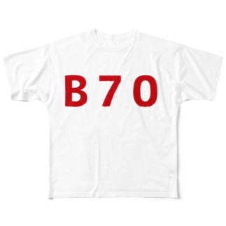 Bの称号 Full graphic T-shirts