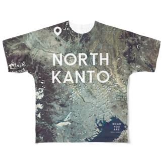 群馬県 桐生市 Tシャツ 両面 Full graphic T-shirts