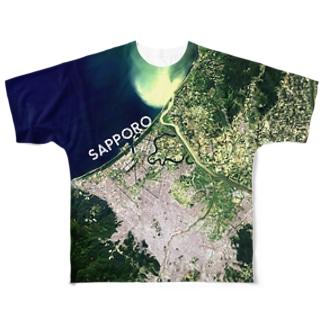 北海道 石狩市 Tシャツ 両面 Full graphic T-shirts