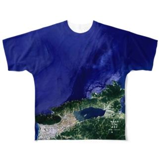 島根県 松江市 Tシャツ 両面 Full graphic T-shirts