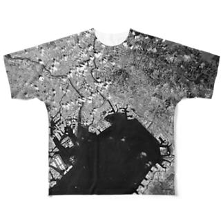 千葉県 市川市 Tシャツ 両面 Full graphic T-shirts