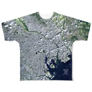 東京都 文京区 Tシャツ 両面 Full graphic T-shirts