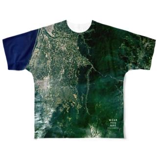 山形県 鶴岡市 Tシャツ 両面 Full graphic T-shirts