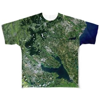 茨城県 石岡市 Tシャツ 両面 Full graphic T-shirts