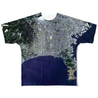 神奈川県 茅ヶ崎市 Tシャツ 両面 Full graphic T-shirts