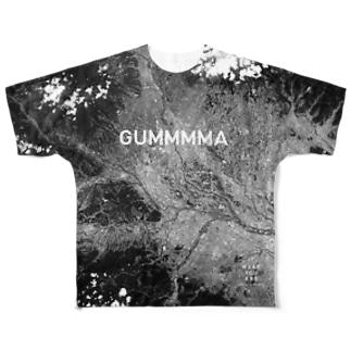 群馬県 高崎市 Tシャツ 両面 Full graphic T-shirts