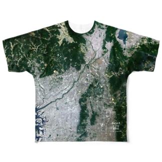 大阪府 枚方市 Tシャツ 両面 Full graphic T-shirts