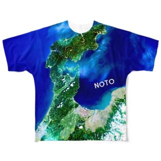 石川県 七尾市 Tシャツ 両面 Full graphic T-shirts