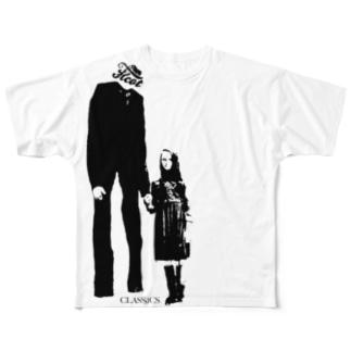 Slender TC-008 フルグラフィックTシャツ