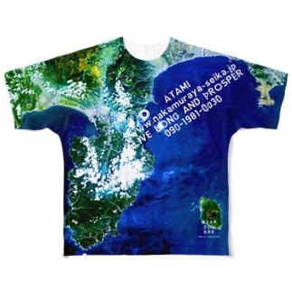 静岡県 伊東市 Tシャツ 両面 Full graphic T-shirts