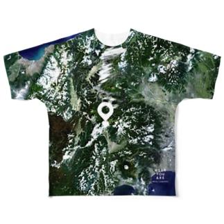 山梨県 北杜市 Tシャツ 両面 Full graphic T-shirts