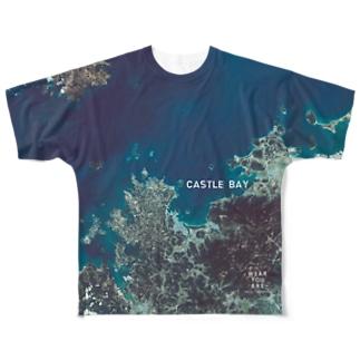 佐賀県 唐津市 Tシャツ 両面 Full graphic T-shirts