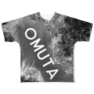 福岡県 大牟田市 Tシャツ 両面 フルグラフィックTシャツ