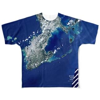 沖縄県 南城市 Tシャツ 両面 Full graphic T-shirts