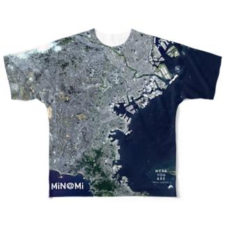 神奈川県 横浜市 Tシャツ 両面 フルグラフィックTシャツ