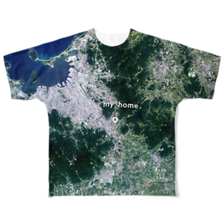 福岡県 朝倉市 Tシャツ 両面 フルグラフィックTシャツ