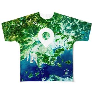 岡山県 岡山市 Tシャツ 両面 フルグラフィックTシャツ