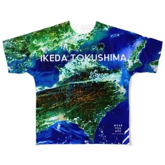 徳島県 三好郡 Tシャツ 両面 フルグラフィックTシャツ