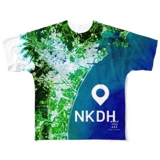 日本 Tシャツ 両面 フルグラフィックTシャツ