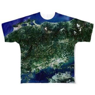 岡山県 高梁市 Tシャツ 両面 フルグラフィックTシャツ