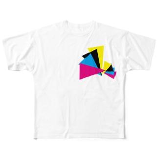 CMYK Full graphic T-shirts
