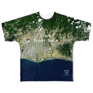静岡県 磐田市 Tシャツ 両面 フルグラフィックTシャツ