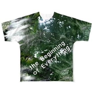 群馬県 吾妻郡 Tシャツ 両面 Full graphic T-shirts
