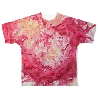 LOVE❤️DRAGON Full graphic T-shirts