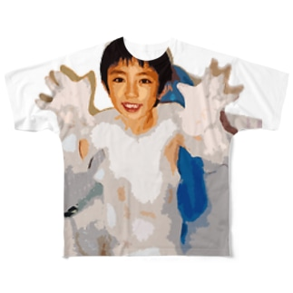 小さい頃の僕 Full graphic T-shirts