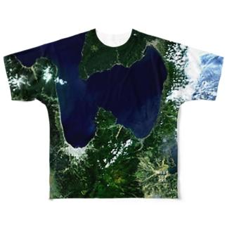 青森県 東津軽郡 Tシャツ 両面 フルグラフィックTシャツ