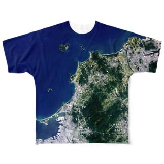 福岡県 福津市 Tシャツ 両面 フルグラフィックTシャツ